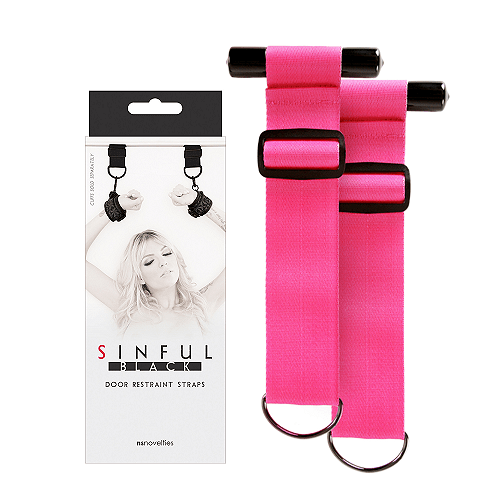 Sinful Door Restaint Straps - NS Novelties