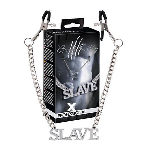 Slave Brystkæde Klemmer - Bad Kitty