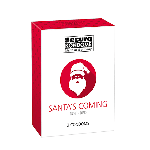 Santa Is Coming Kondomer - Secura