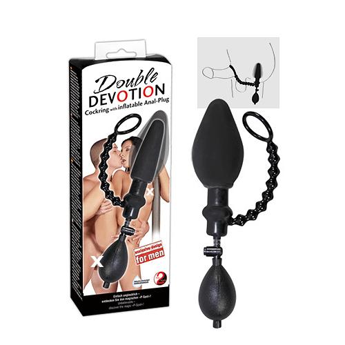 Cockring/Inflatable Analplug