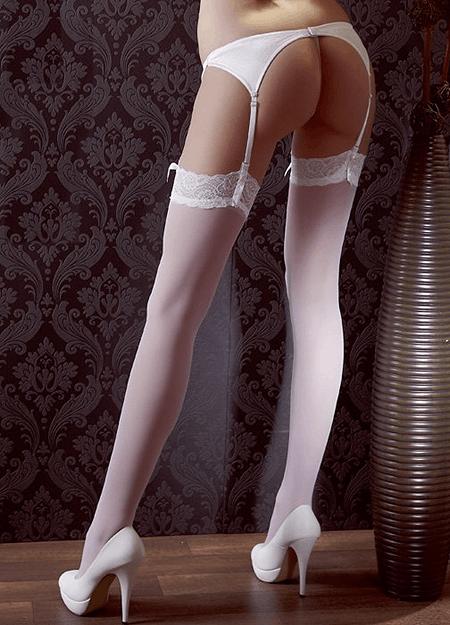 Blonde Strop Strømpe