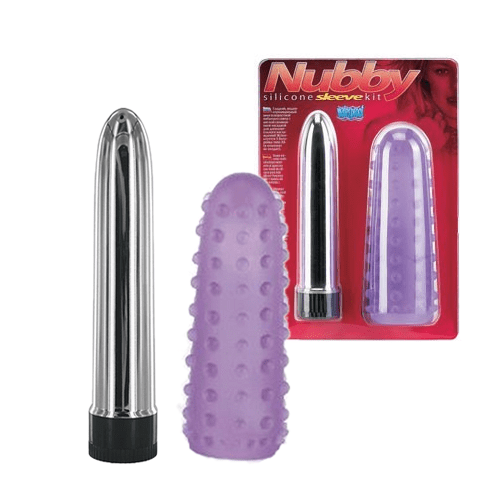 Nubby Sleeve Vibrator - Seven Creations - Massagestav/overtræk