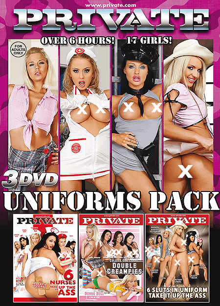 Uniforms DVD 3-pack