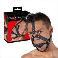 Head Ball Harness - Bad Kitty - Hovedseletøj gag