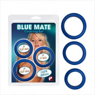 Blue Mate Cockring Set - You2toys - Penisring sæt
