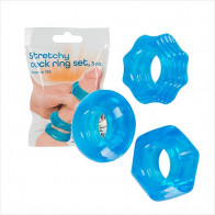 Stretchy Cock Ring Set - You2toys - Penisringe sæt