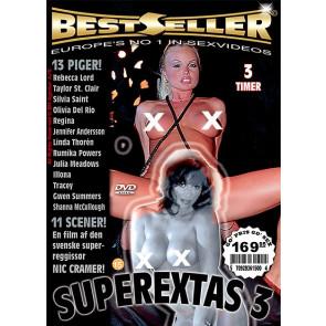 Superextas #3 - Bestseller - DVD sexfilm