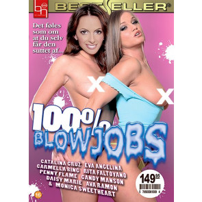 100% Blowjobs - Bestseller - DVD pornofilm