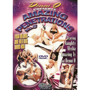 Amazing Penetrations #8 - Sticky Video - DVD pornofilm