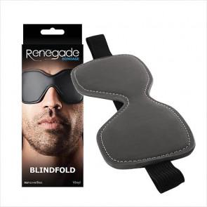 Bondage Vinyl Blindfold - NS Novelties - Bondage udstyr