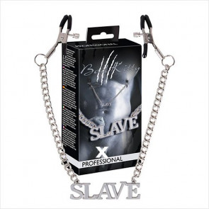 Slave Brystkæde Klemmer - Bad Kitty - Brystvorte Klemmer