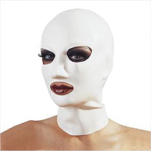 Øjne/Mund Latex Helmaske