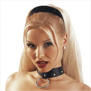 O-Ring Læder Halsbånd