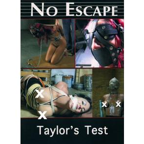 No Escape - Taylors Test - Gordbooks - Bondage film