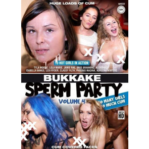 Bukkake Sperm Party #4 - DVD pornofilm - Orrange Media Group