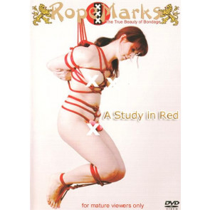 Rope Study In Red - Rope Marks - DVD sexfilm