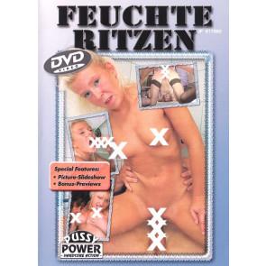 Feuchte Ritzen - Pussy Power - DVD videofilm