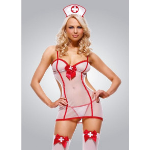 Naughty Nurse Outfit - Leg Avenue - Uniform