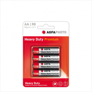 4 stk. AA Batterier