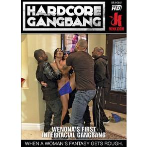 Wenona's First Interracial Gangbang - Kink.com Hardcore Gangbang - DVD Pornofilm