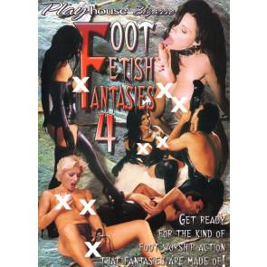 Foot Fetish Fantasies #4 - Playhouse - DVD sexfilm