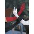 Lang Satin Handske